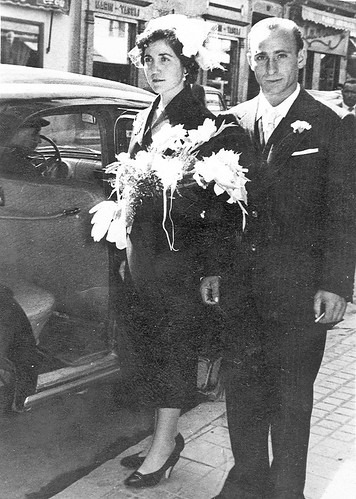 Boda de Pedro Belio y Josefina Santacruz.