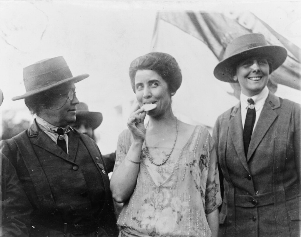 1923: First Lady Grace Coolidge Samples Some Girl Scout Cookies