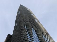 Aqua Tower (ShezBot2) Tags: usa chicago tower illinois aquatower