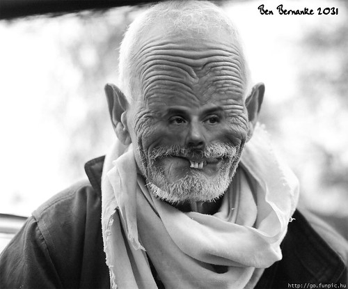 BEN BERNANKE 2035 by Colonel Flick