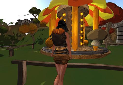 Miel Pumpkin Raider by Cherokeeh Asteria