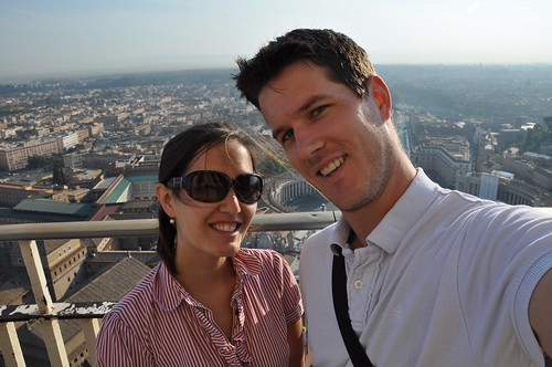 Us on top of Rome
