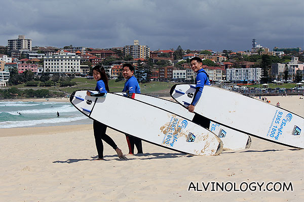 Posers spotted at Bondi Beach