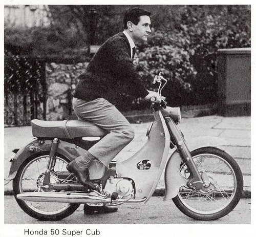 Honda C100 - 1958 by Lawrence Peregrine-Trousers