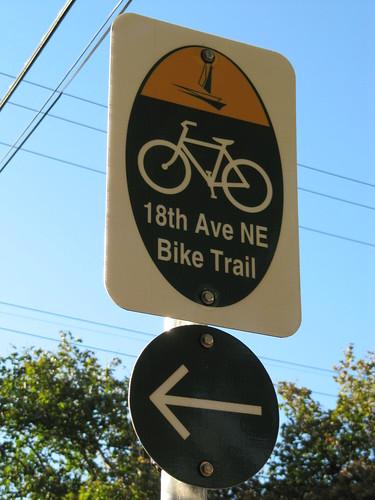 18th Ave NE Bike Trail