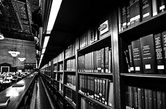 New York public library, par Franck Vervial