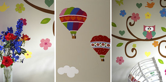 Pink & Posh vinyl wall art