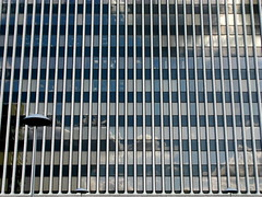 # (Dialed-in!) Tags: city blue windows light urban white reflection lines vertical horizontal architecture clouds oregon portland lights many or off symmetry repetition pdx dialedin topbottomedge