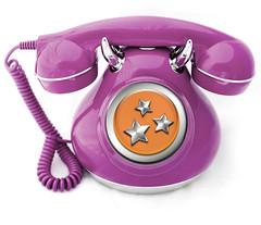 Purple Vintage Phone