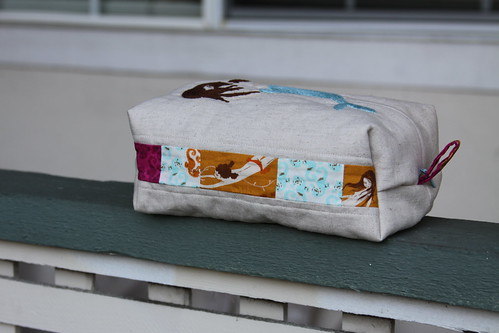 Pretty Littel Pouch Swap 3 - Mendocino Mermaid Boxy Pouch