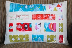pillow cover - christmas (coco stitch) Tags: christmas pillowcover
