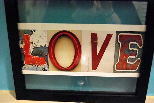 Love alphabet letters