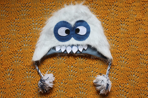 Faux Fur Yeti Hat