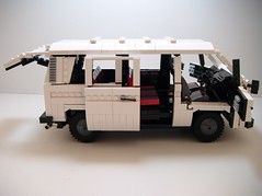 1980 VW T3 (J0n4th4n D3rk53n) Tags: bus vw volkswagen lego mini t3 van volks 1980 minibus wagen