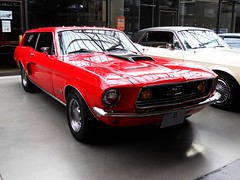 Ford Mustang GT Sport Wagon (Transaxle (alias Toprope)) Tags: auto red usa berlin classic cars ford beauty car station vintage wagon us nikon automobile cobra power estate muscle dream engine voiture retro antiguos chrome american coche soul carros classics 100views carro 1968 autos mustang gt  macchina coches musclecar 800views 700views c6 voitures toprope sportwagon meilenwerk showcar automobil macchine chromerims discbrakes clasicos altmoabit shootingbrake 900views autoretro 750views crager 5litre statonwagon kraftfahrzeuge  dressupkit wiebestrasse classicremise 3