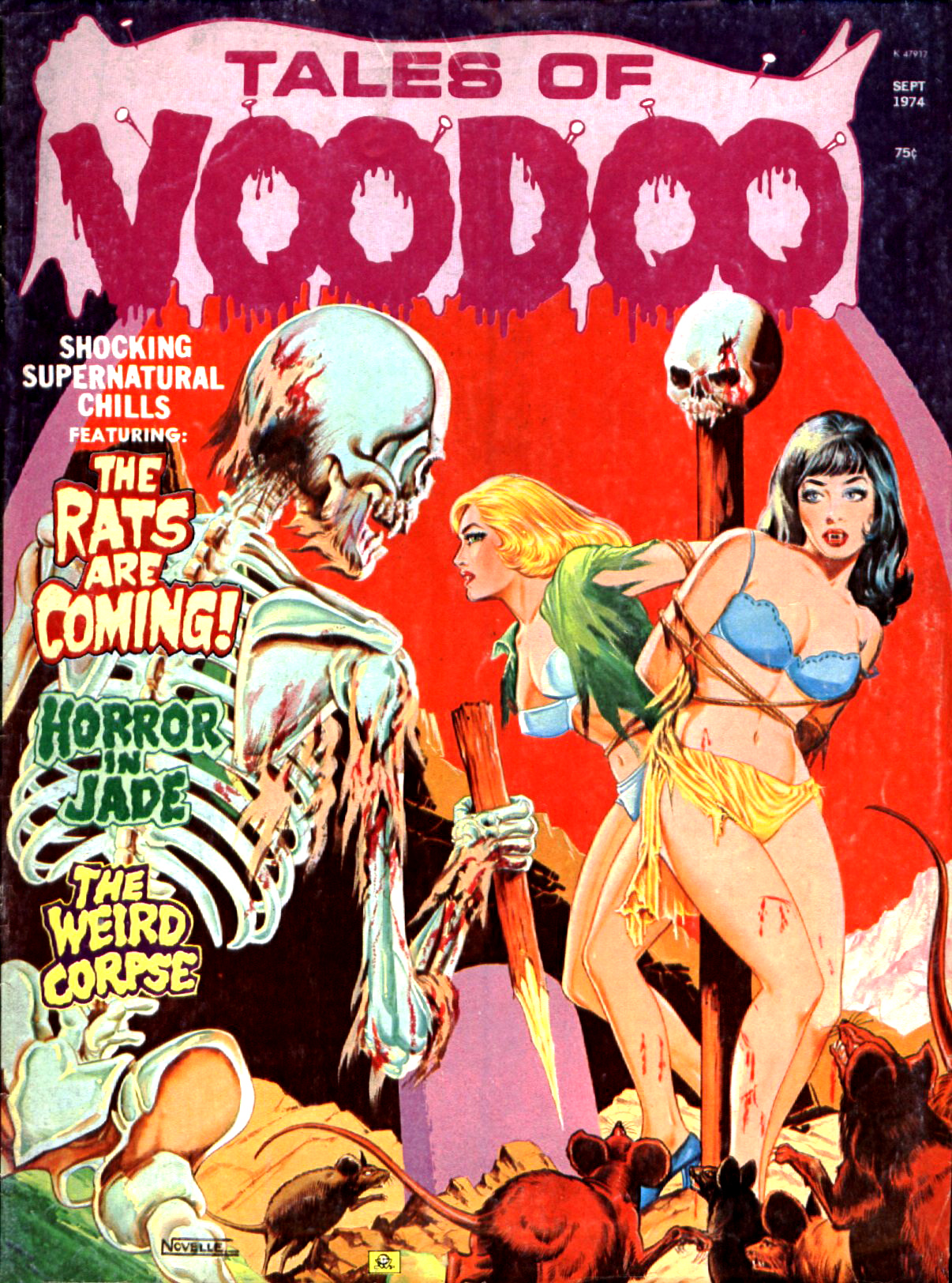 Tales of Voodoo Vol. 7 #5 (Eerie Publications 1974