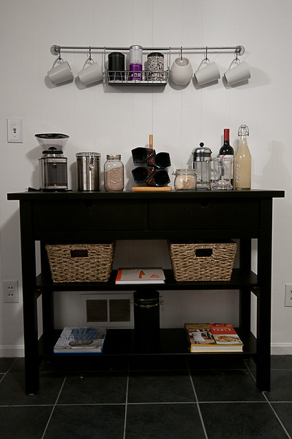 updated coffee/tea bar
