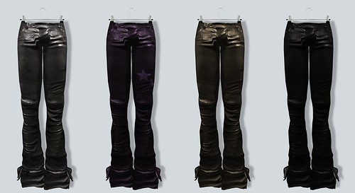 A:S:S Mephisto leather pants