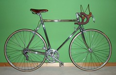 1970s Bottecchia Campione del Mondo (Zeitenwende) Tags: columbus bicycle chrome velo brooks fiets wolber campagnolo rennrad steelframe racingbike bottechia campionedelmondo brooksswift veloorange stahlrahmen velodecourse continentalgiro