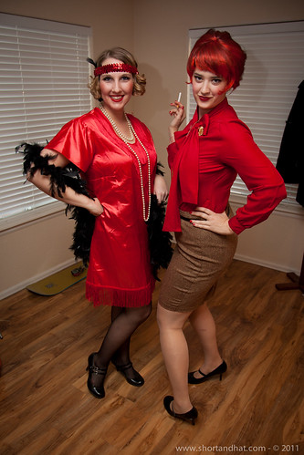 A Flapper and Joan Holloway
