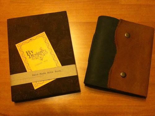 Blank sketch journals