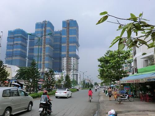 near LOTTE Mart in Ho Chi Minh