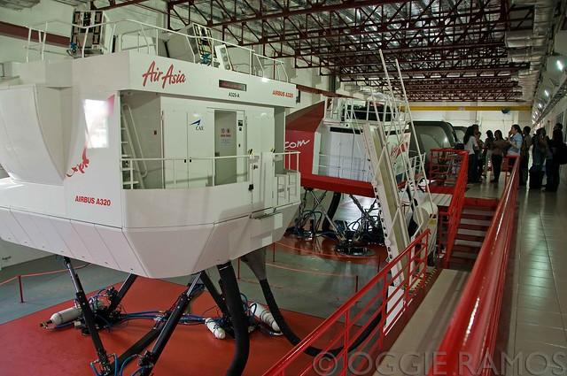 Malaysia - AirAsia Simulators Area