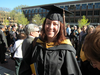 Sarah Graduating with an MBA