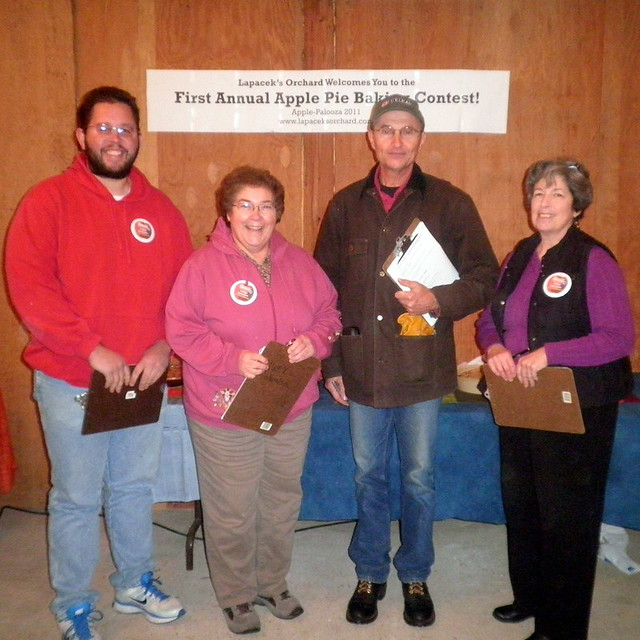 The Apple Pie Contest Judges