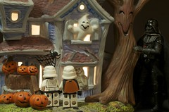 Trick or Treat (Kalexanderson) Tags: stilllife halloween pumpkin toys starwars sweden stockholm stormtroopers son troopers darth stormtrooper fatherandson familylife ordinarylife 365daysofstormtroopers stormtrooperandson