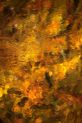River Wharfe Abstract (rgarrigus) Tags: autumn red england orange brown abstract reflection water yellow river stream yorkshire tse wharfedale riverwharfe tiltshift greatphotographers garrigus robertgarrigus robertgarrigusphotography