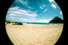 Makapuu Beach (sayapapaya1028) Tags: sky clouds hawaii sand oahu sunny makapuubeach