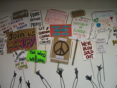 Occupy Ventura Art Installation