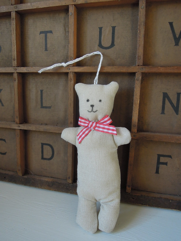 Christmas Teddy Decorations