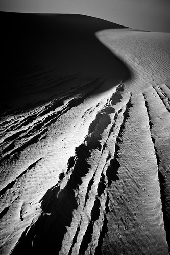 """Lines of White Sands"""