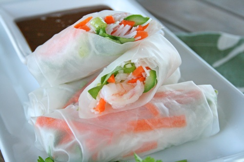 Prawn Noodle Rolls With Thai Dipping Sauce Recipes — Dishmaps
