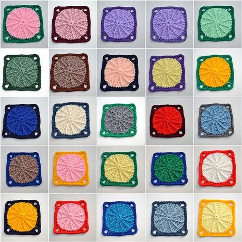Crochet Square Mosaic