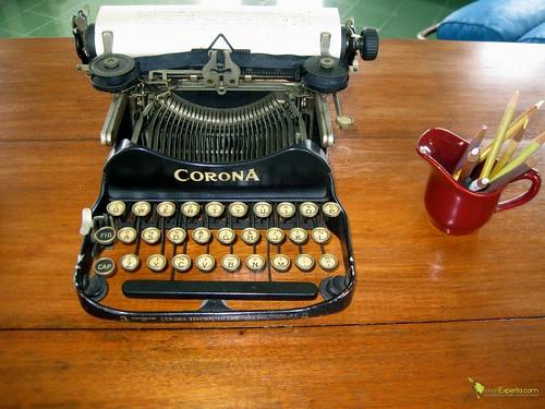 Hemingway's Original Typewriter - Cuba