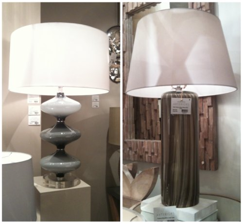 Arteriors Table Lamps High Point Fal 2011. CreateGirl