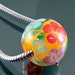 Charm bead : Orange garden