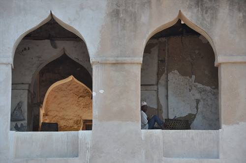 Islamic arches in Kilwa