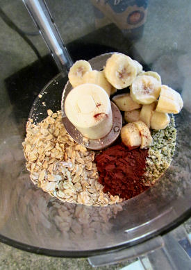 Banana Whip Oats Before