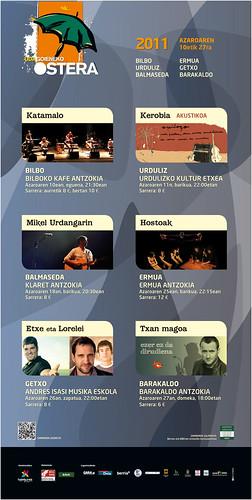 UDAGOIENEKO OSTERA 2011 - Kartela