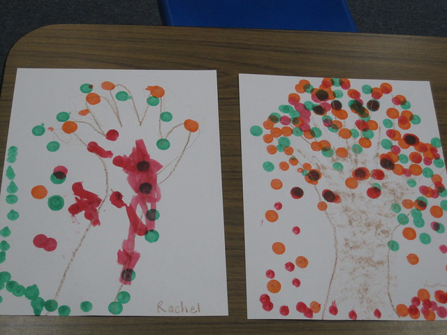 Bingo Dot Autumn Trees