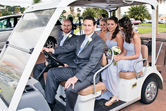 Bridal Party in Golf Carts (sezipix) Tags: family wedding friends love beautiful true fun happy groom bride amazing truth couple married veil dress memories obey marriage happiness husband romance suit honest bridesmaids together amour future stunning wife bond iloveyou forever bouquet weddingparty lover gown groomsmen excitement engaged truelove golfcart breathtaking inlove exciting pinstripe soulmate honour cherish fiancé jetaime