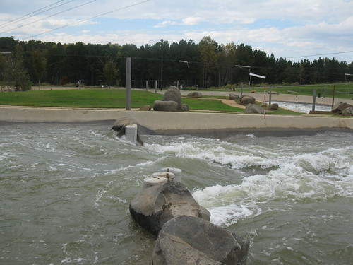 Hydraulic jump at the USNWC (photo by A. Jefferson)