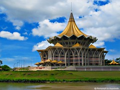 New Sarawak State Legislative Assembly Building (angie boi) Tags: new building state sarawak assembly legislative