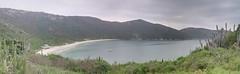 Panorama of Praia do Forno (Frans Harren) Tags: sea brazil panorama mountain mountains beach water brasil riodejaneiro canon rj bra hills hdr canonpowershotg1 arraialdocabo powershotg1 ptgui 3exp exposurefusion