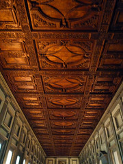 Michelangelo, Laurentian Library Reading Room Ceiling