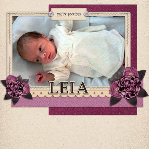 Precious Leia by Lukasmummy